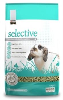selective konijnenvoer